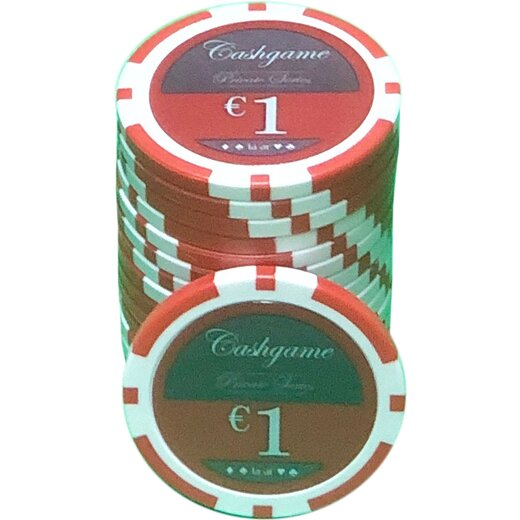 Poker Chip Set LAZAR - Cash Game Small Stakes