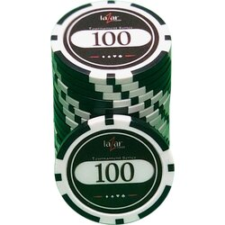 Poker Chip LAZAR - Tournament Series 100