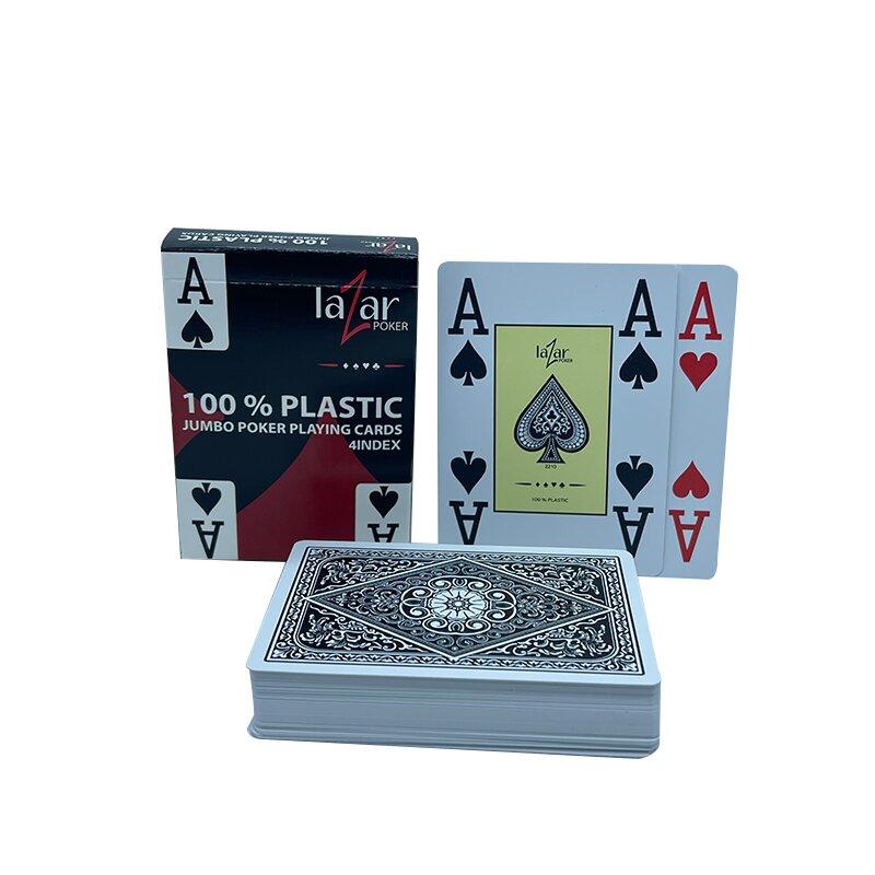 Plastikkarten Poker