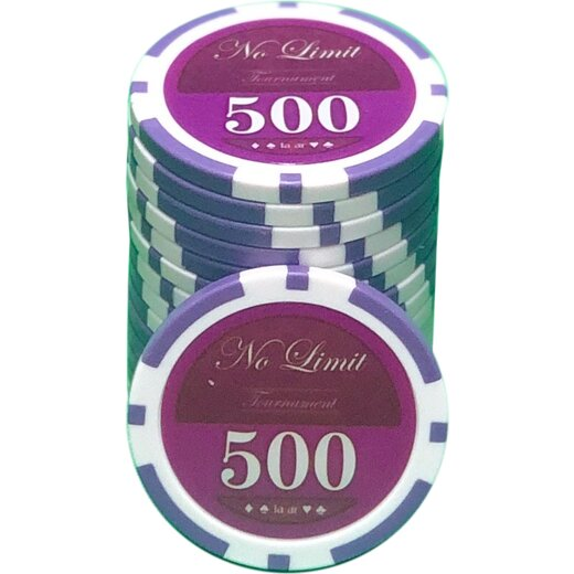 Pokerset LAZAR - No Limit 500 - MIX IT
