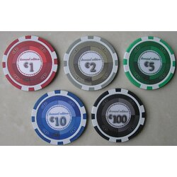 Poker Chip LAZAR - Casino Series
