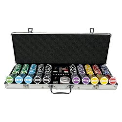 Poker Chip Set LAZAR - Tournament Series 500