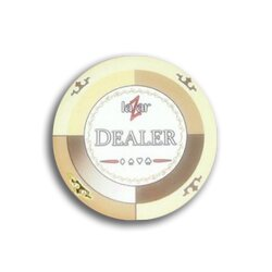 Ceramics - Dealer Button Lazar Casino