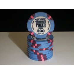 Ceramics - WSOP Replica 2011 - 500 - unaligned