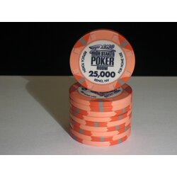 Ceramics - WSOP Replica 2011 - 25000 - unaligned