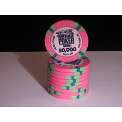 Ceramics - WSOP Replica 2011 - 50000 - unaligned