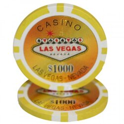 Pokerchip - Las Vegas 1000