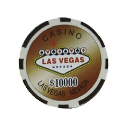 Pokerchip - Las Vegas 10.000